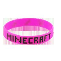 Minecraft armbånd Pink