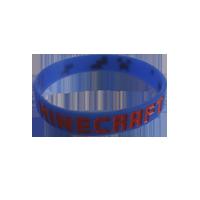 minecraft armbånd blå