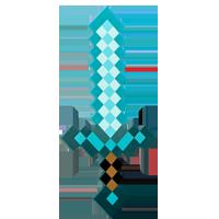 Minecraft sværd diamant