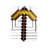 Minecraft hakke guld
