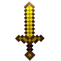 Minecraft sværd guld