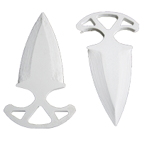 Shadow daggers White
