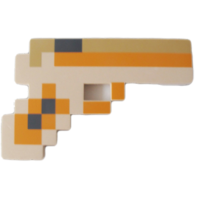 Minecraft-gun-orange